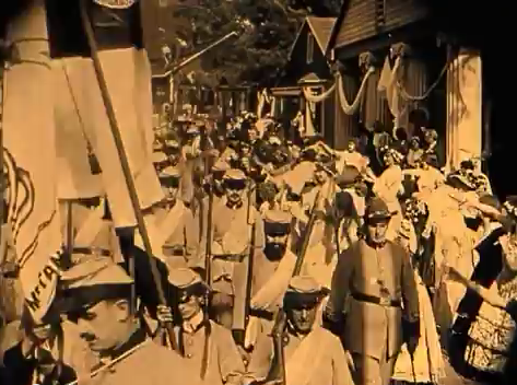 Screenshot aus The Birth of a Nation. Lizenz: gemeinfrei.