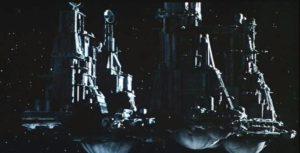 Die Nostromo aus Alien von Ridley Scott.
